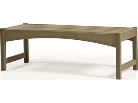 Breezesta Skyline Recycled Plastic 60''W x 19''D Rectangular Coffee Table