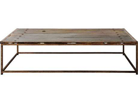 Brownstone Furniture Anton 50''L x 30''W Rectangular Old Elm Coffee Table