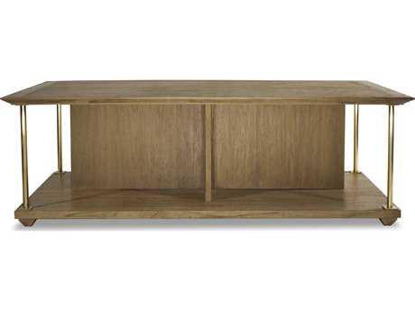 Brownstone Furniture Atherton 52''L x 28''W Cerused Teak Coffee Table