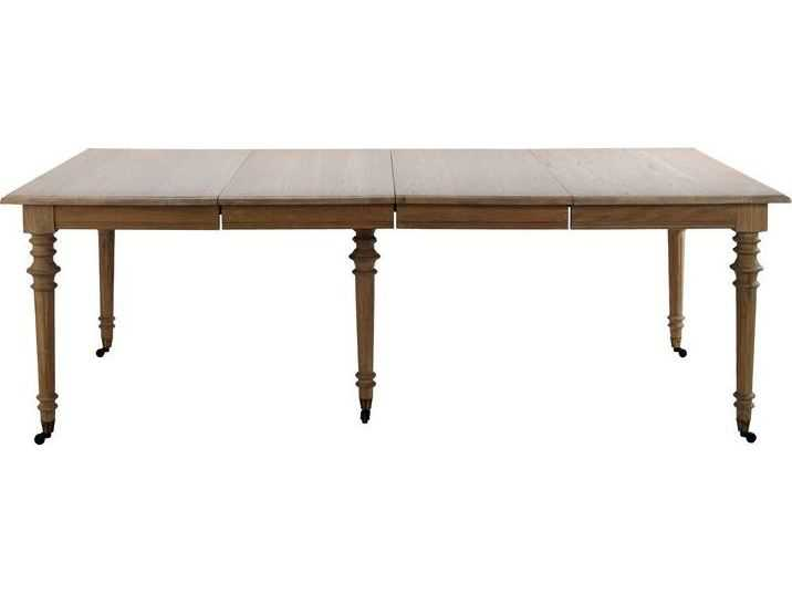 Brownstone furniture belmont 108 39 39 l x 44 5 39 39 w eggshell for 108 inch dining room table