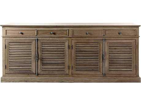 Brownstone Furniture Belmont 87''L x 20''W Eggshell Server Buffet