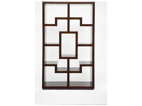 Brownstone Furniture Chelsea 46''L x 80''H Chestnut Brown Bookcase