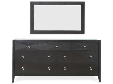 Brownstone Furniture Camden Espresso Double Dresser Set
