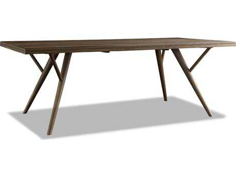 Brownstone Furniture Crawford 84''L x 41''W Rectangular Sepia Dining Table