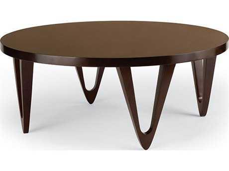 Brownstone Furniture Georgetown 36'' Round Chestnut Brown Coffee Table