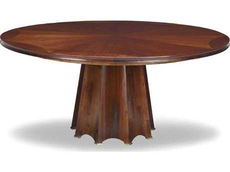 Brownstone Furniture Kensington 67'' Round Cognac Dining Table