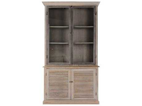 Brownstone Furniture Luxembourg 54''L x 95''H Oak Bookcase