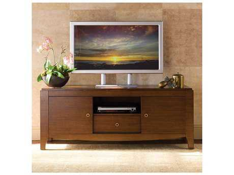 Brownstone Furniture Mercer Warm Brown Sienna Plasma Console TV Unit