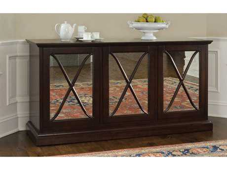 Brownstone Furniture Sienna 71''L x 22''W Rectangular Chestnut Server Buffet