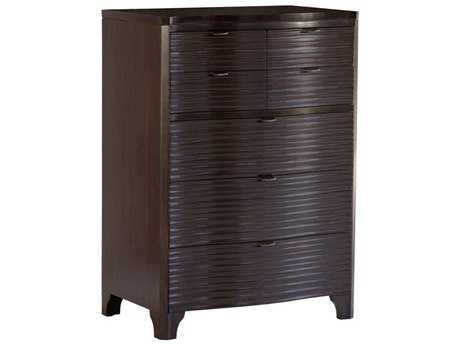 Brownstone Furniture Townsend Highboy 36''Lx 21.5''W Rectangular Warm Sedona Brown Chest of Drawers