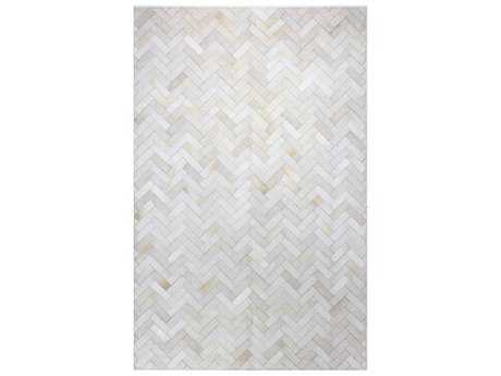 Bashian Rugs Santa Fe Rectangular Cream Area Rug