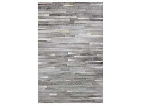 Bashian Rugs Santa Fe Rectangular Grey Area Rug