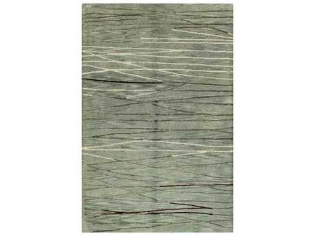 Bashian Rugs Greenwich Rectangular Aqua Area Rug