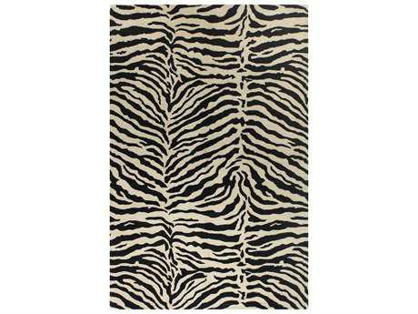 Bashian Rugs Greenwich Rectangular Black Area Rug