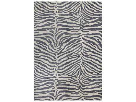 Bashian Rugs Greenwich Rectangular Grey Area Rug