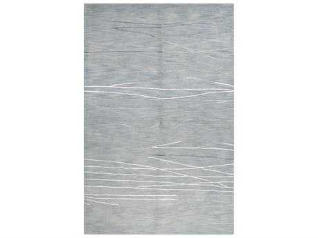 Bashian Rugs Greenwich Rectangular Light Blue Area Rug
