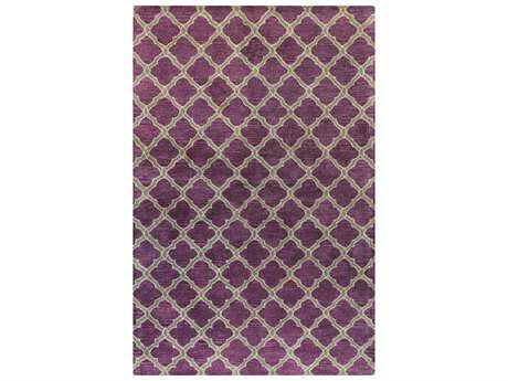 Bashian Rugs Greenwich Rectangular Lilac Area Rug