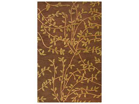 Bashian Rugs Verona Rectangular Chocolate Area Rug