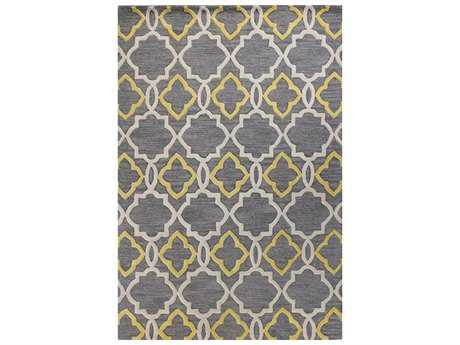 Bashian Rugs Verona Rectangular Grey Area Rug