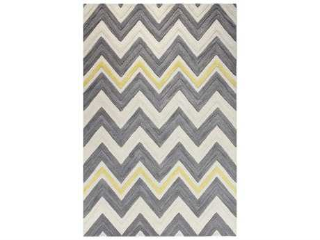 Bashian Rugs Verona Rectangular Ivory & Grey Area Rug