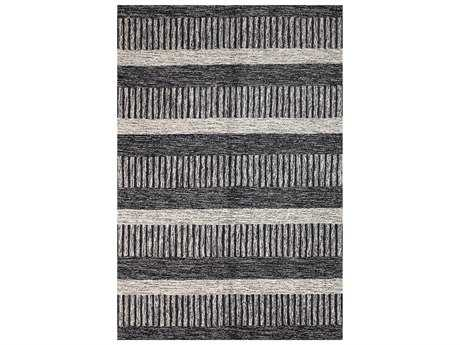 Bashian Rugs Valencia Rectangular Black Area Rug