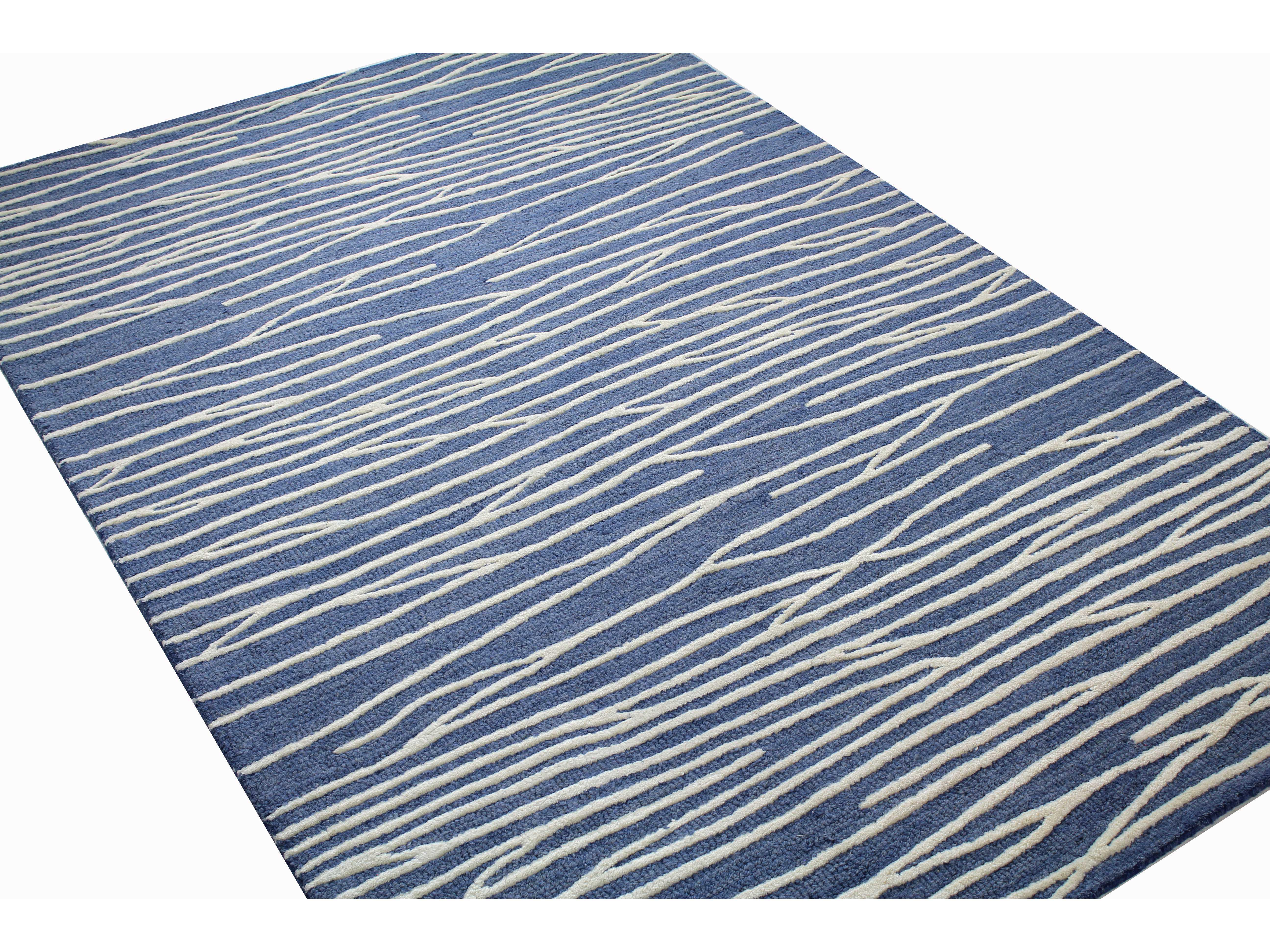 bashian rugs westwood rectangular denim area rug