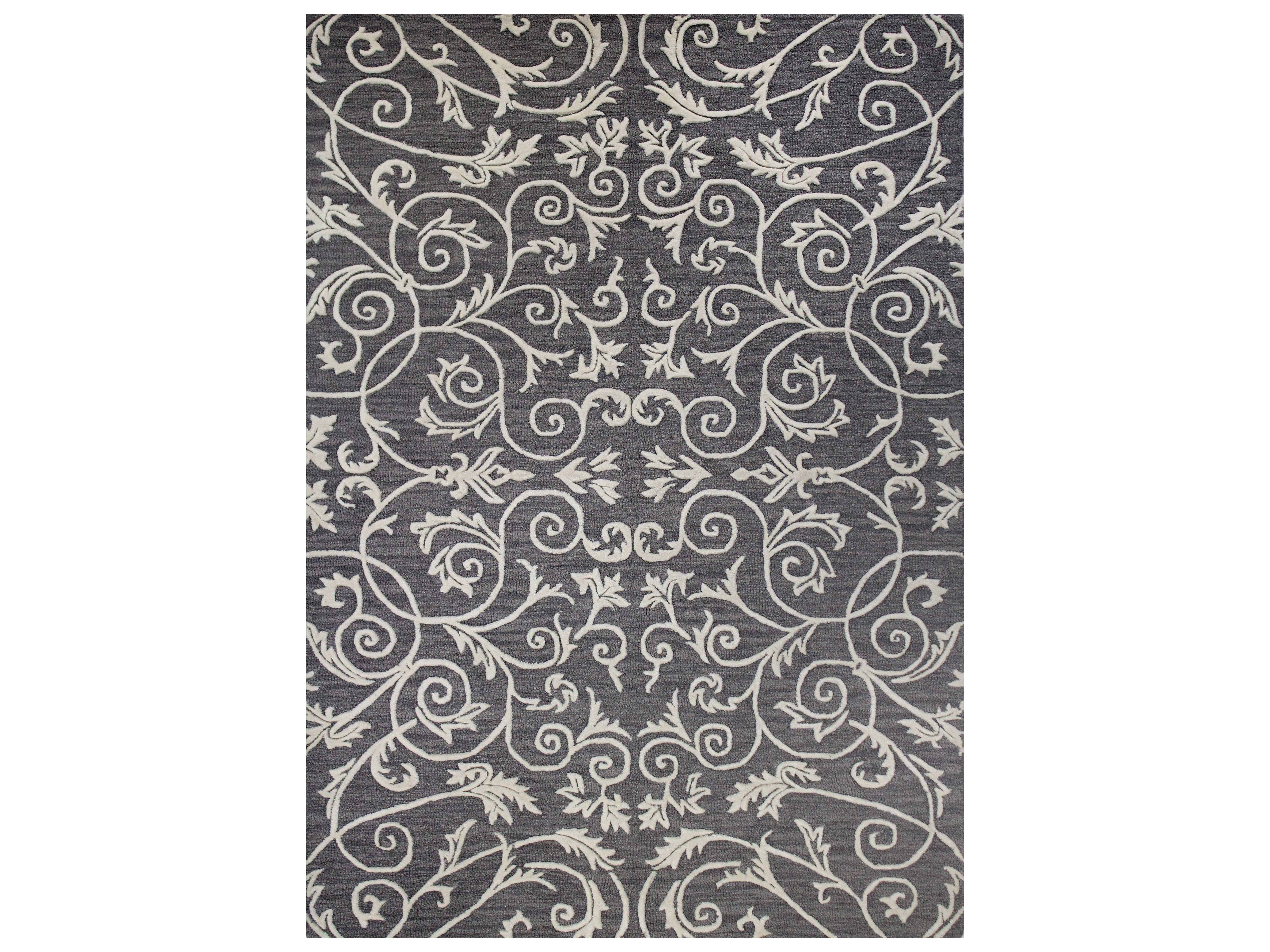bashian rugs westwood rectangular grey ivory area rug