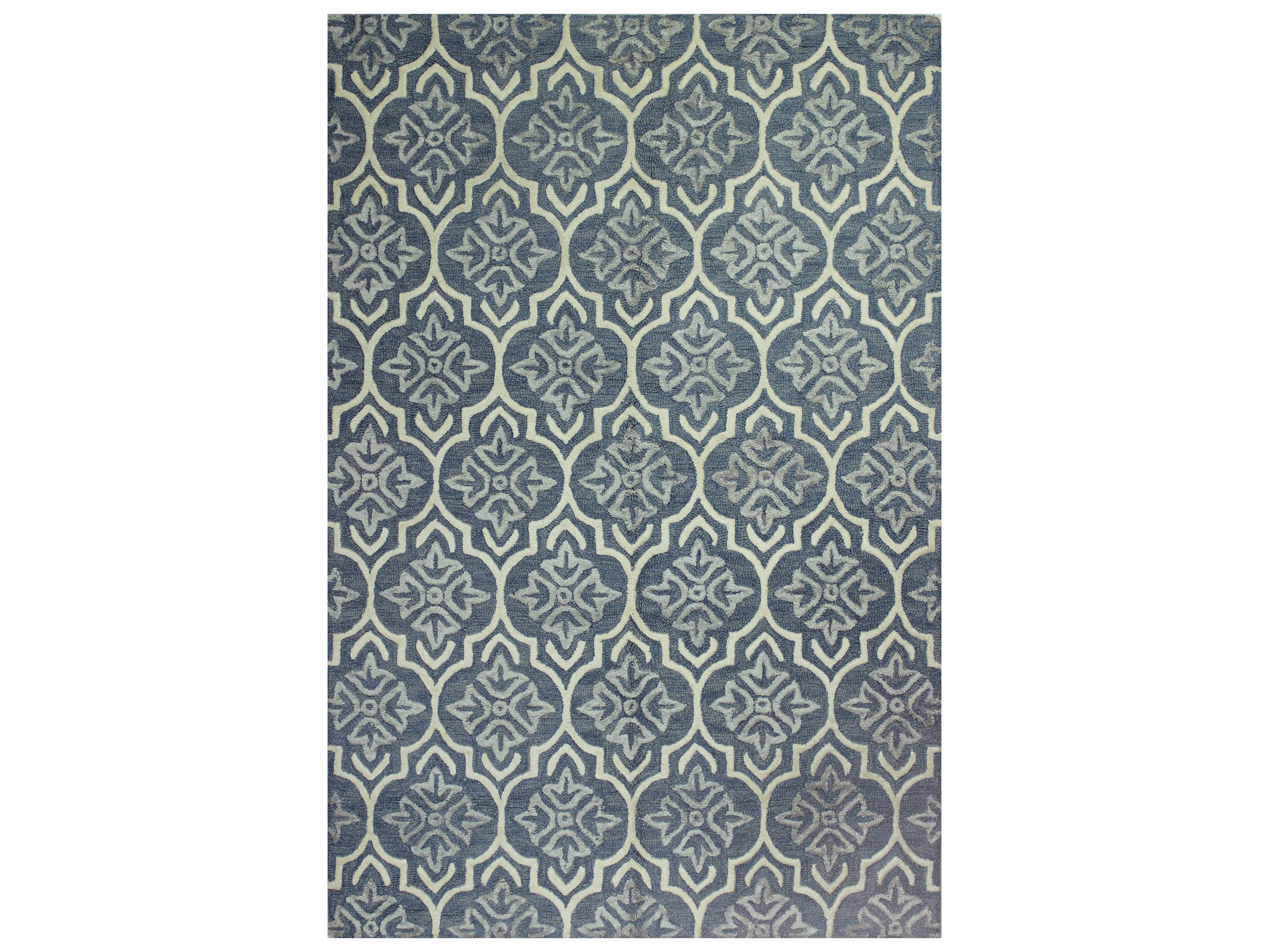bashian rugs westwood rectangular light blue area rug