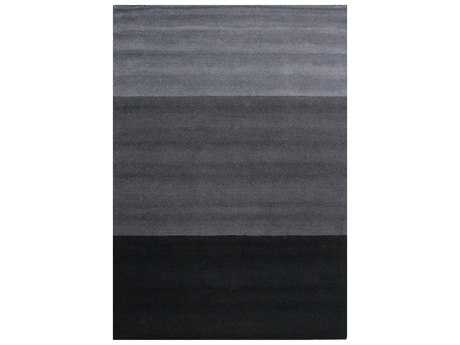 Bashian Rugs Contempo Rectangular Charcoal Area Rug