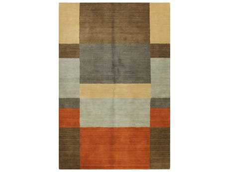 Bashian Rugs Contempo Rectangular Brown Area Rug