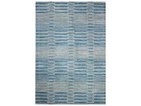 Bashian Rugs Chelsea Rectangular Blue Area Rug