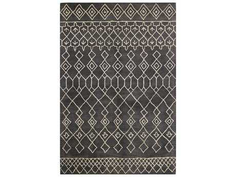 Bashian Rugs Chelsea Rectangular Charcoal Area Rug