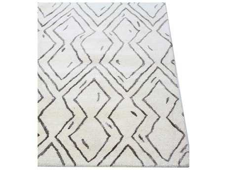 Bashian Rugs Norwalk Rectangular White Area Rug