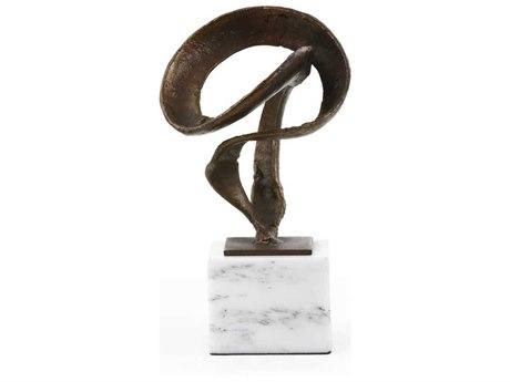 Bungalow 5 Bronze / White Marble Hanya Statue Sculpture