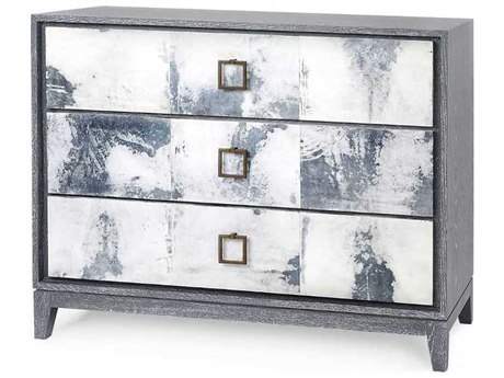 Bungalow 5 Phillips Gray Three-Drawer Single Dresser