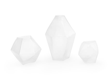 Bungalow 5 Clear Petra Vases (Set of 3)