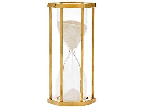 Bungalow 5 Polished Brass Sandglass Hourglass