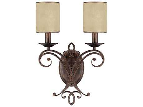 Capital Lighting Reserve Rustic Two-Light Wall Sconce