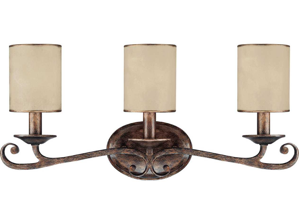 Capital lighting reserve rustic three light vanity light Rustic bathroom vanity light fixtures