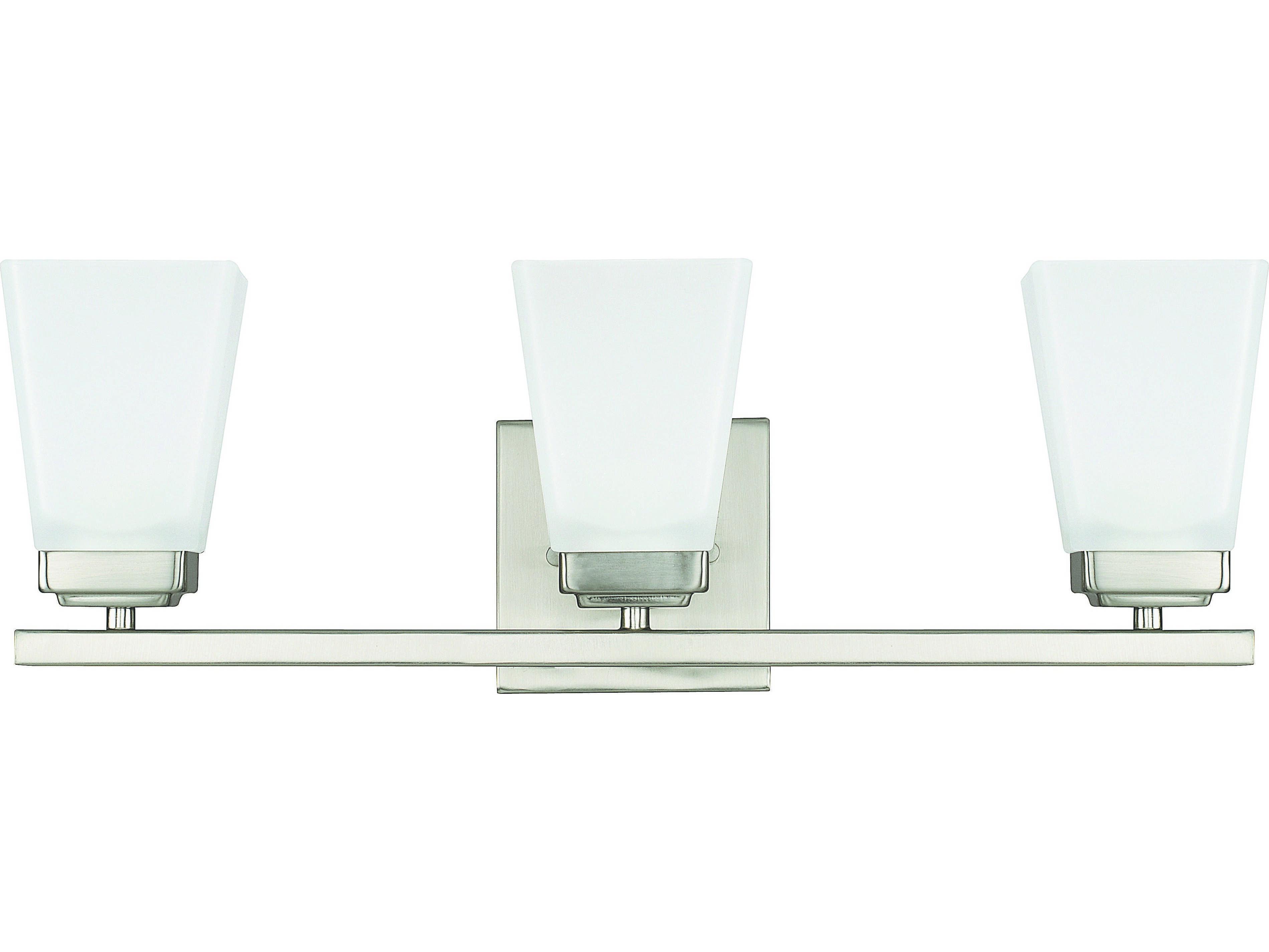 Capital Lighting 4 Light Vanity Fixture Brushed Nickel: Capital Lighting HomePlace Lighting Baxley Brushed Nickel