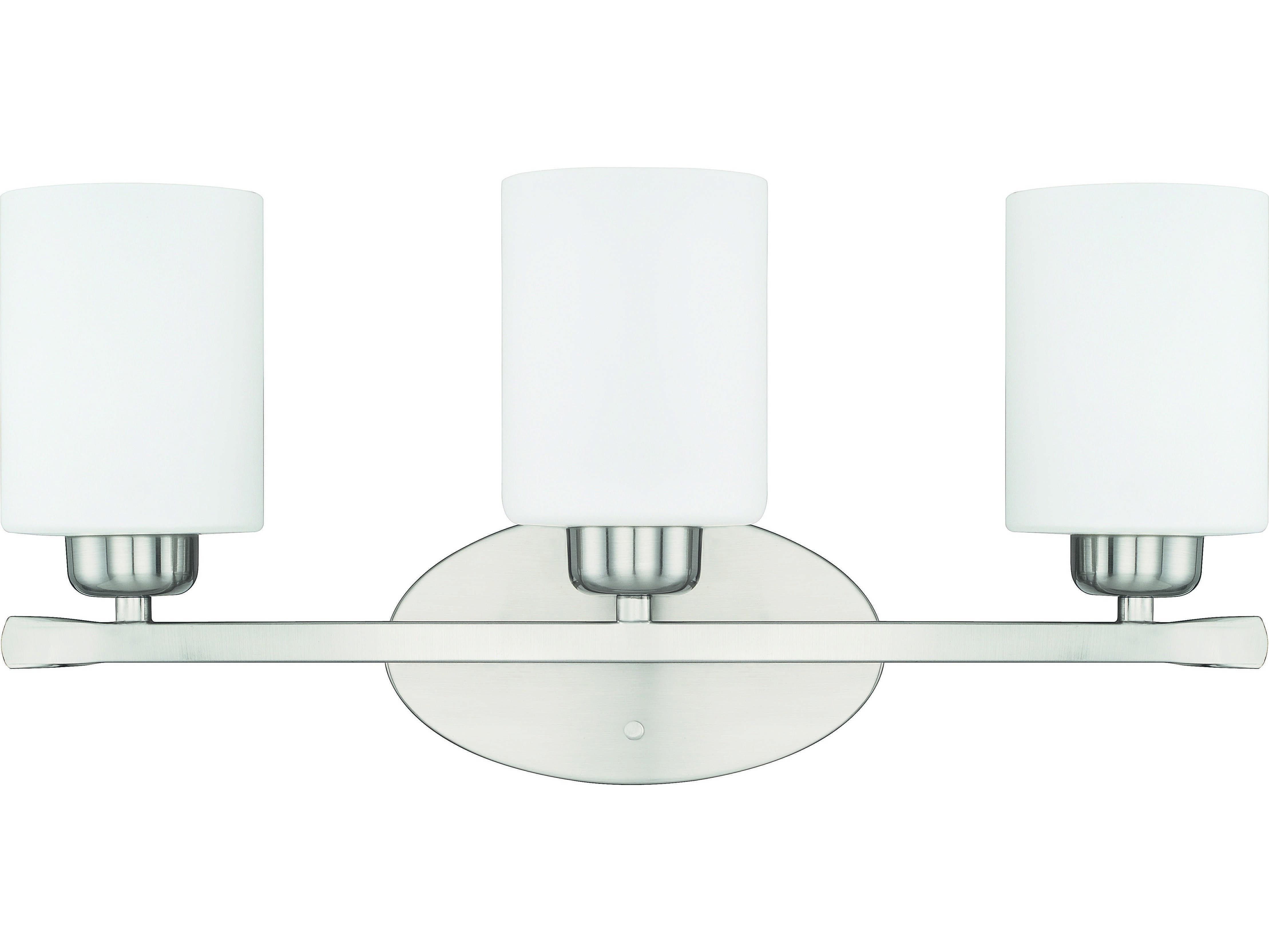 Capital Lighting 4 Light Vanity Fixture Brushed Nickel: Capital Lighting HomePlace Lighting Dixon Brushed Nickel