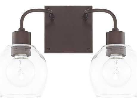 Capital Lighting HomePlace Bronze Two-Light Vanity Light