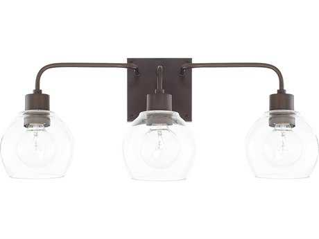 Capital Lighting HomePlace Bronze Three-Light Vanity Light