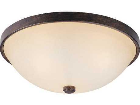 Capital Lighting Rustic Two-Light 12.5'' Wide Flush Mount Light