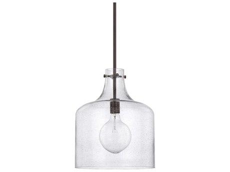 Capital Lighting Homeplace Bronze 12'' Wide Mini Pendant Light