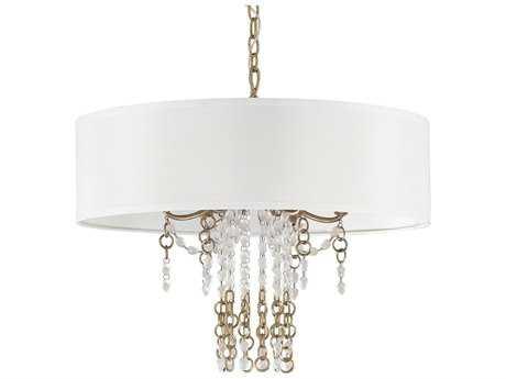 Capital Lighting Ava Sable Six-Light 24'' Wide Pendant Light