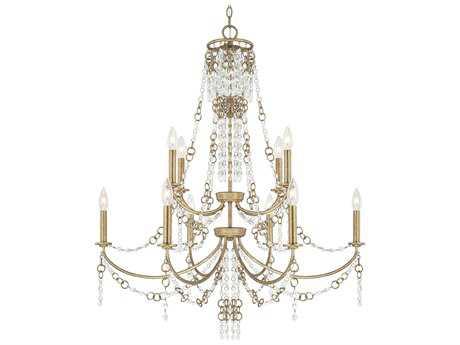 Capital Lighting Ava Sable Ten-Light 34'' Wide Chandelier