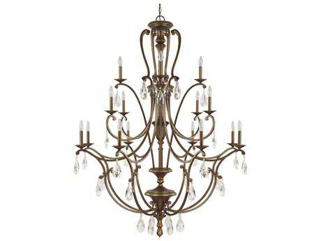 Capital Lighting Claybourne Suede 16-Light 50'' Wide Grand Chandelier