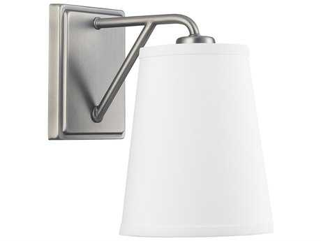 Capital Lighting East Village Antique Nickel Wall Sconce