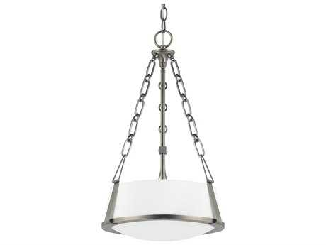 Capital Lighting East Village Antique Nickel Two-Light 13'' Wide Pendant Light